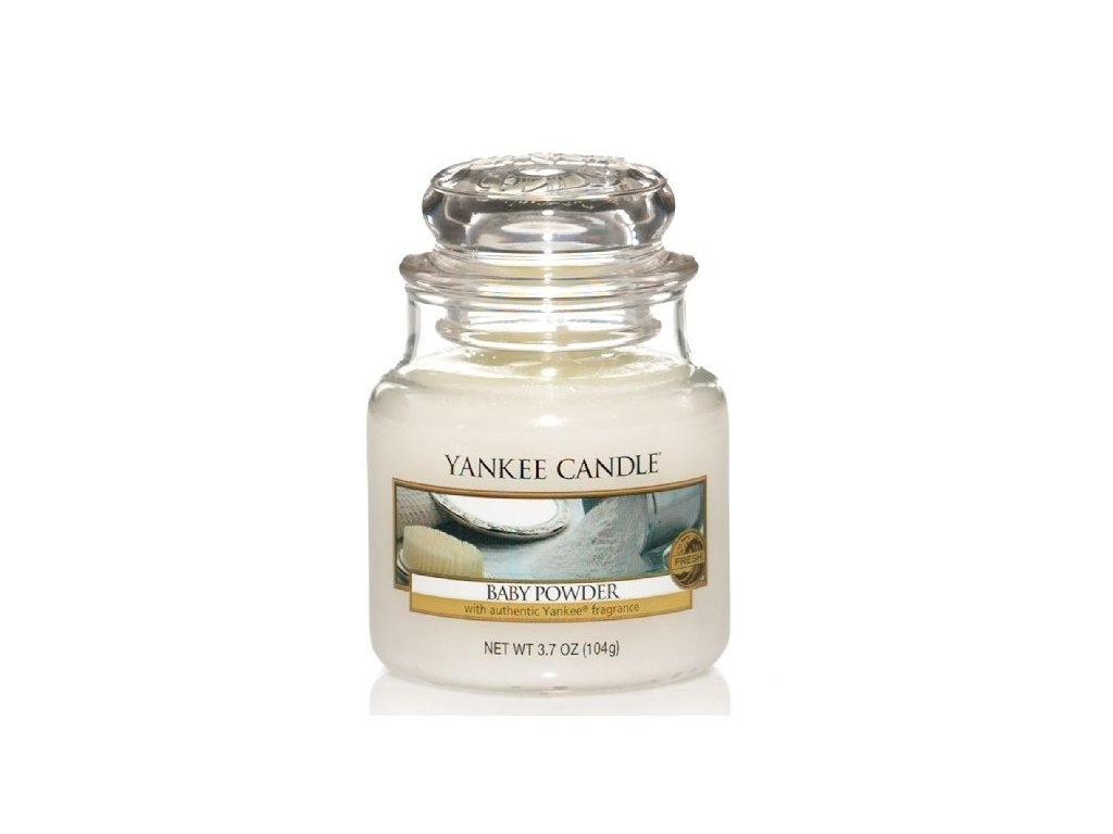 Vonná sviečka Yankee Candle - Baby powder