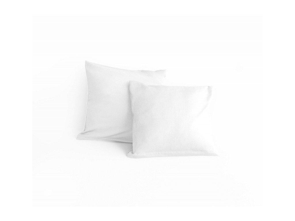 Obliečka bavlnená biela 40x40cm