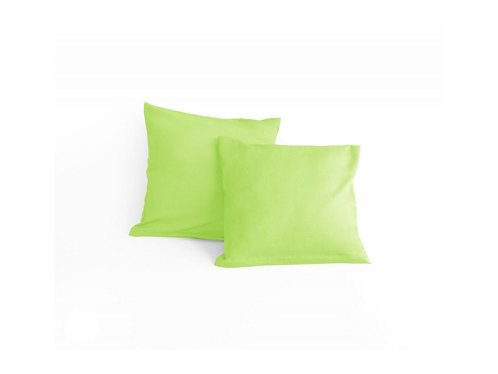 Obliečka bavlnená zelenkavá 40x40cm