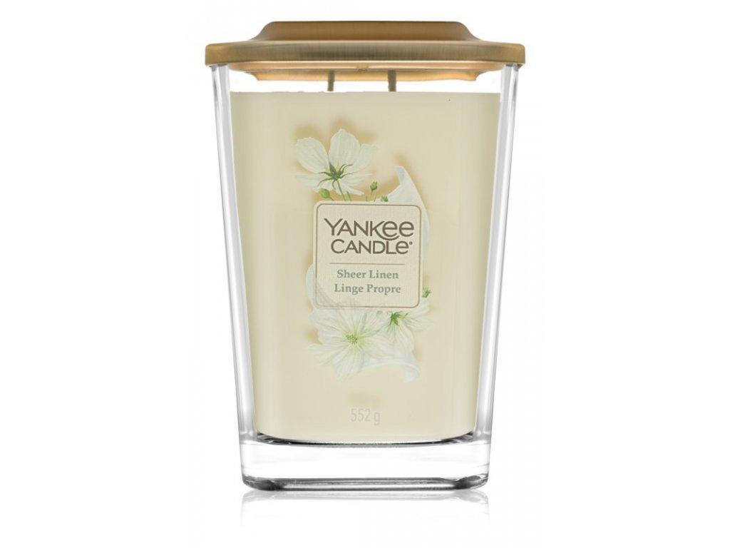 Vonná sviečka Yankee Candle Elevation - Sheer linen