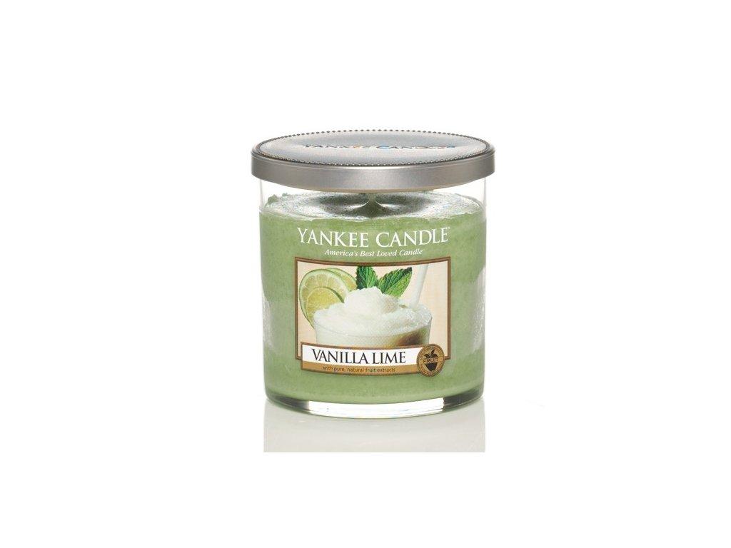 Vonná pillar sviečka Yankee Candle - Vanilla lime