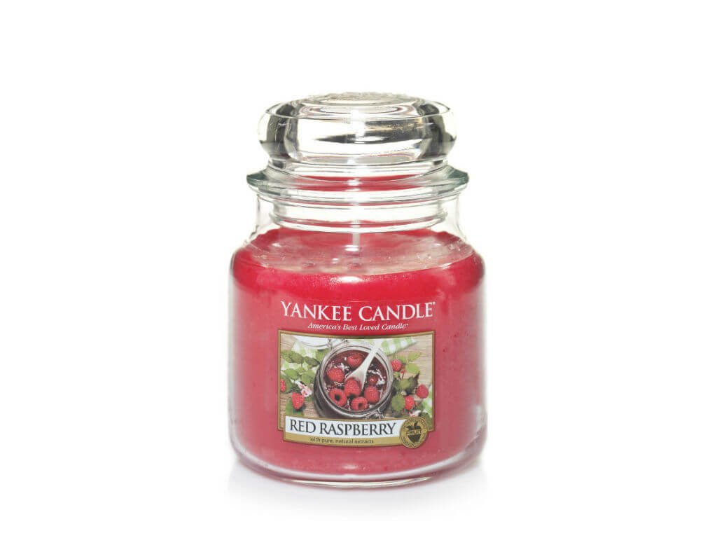Vonná sviečka Yankee Candle - Red raspberry