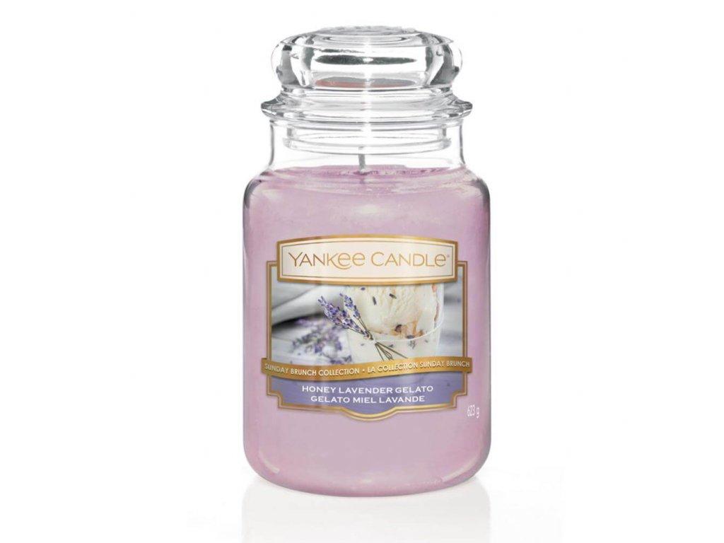 Vonná sviečka Yankee Candle - Honey lavender gelato