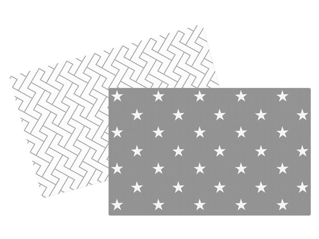 Premium podložka Lalalu Biela hviezda