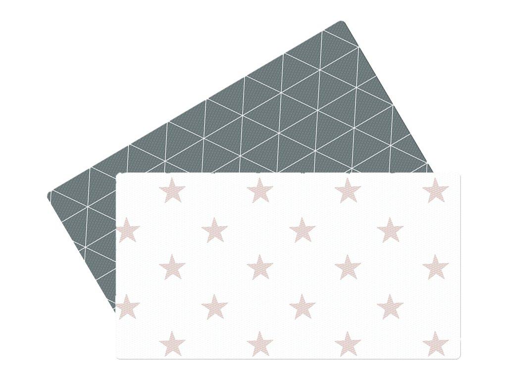 Premium podložka Grey Star - 75x44x1,2cm