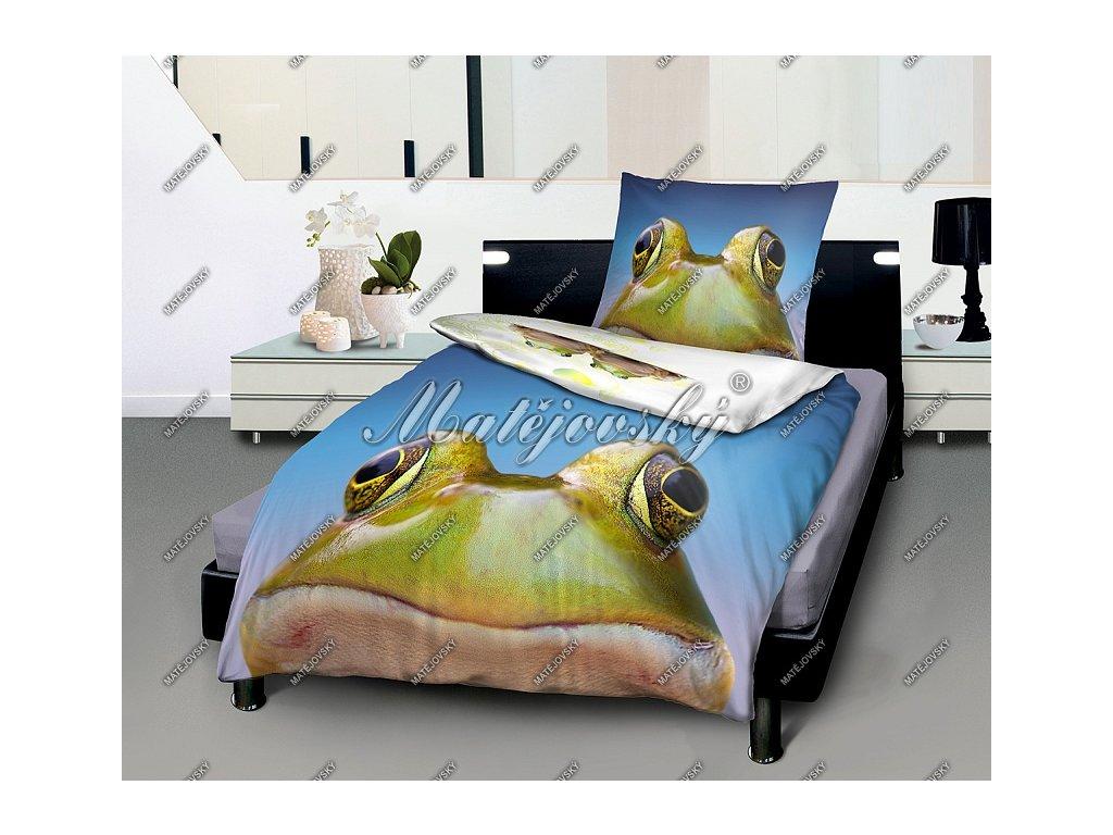 Posteľné obliečky Happy Froggy