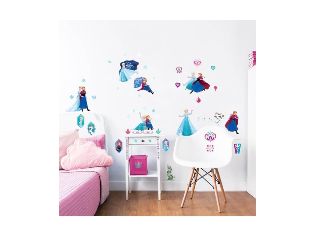 Sada dekoračných samolepiek na stenu - Frozen