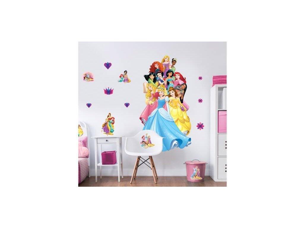 Nálepky na stenu - Princess - Disney