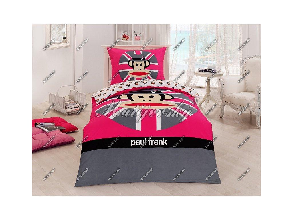 Detské obliečky Paul Frank Pink Cap
