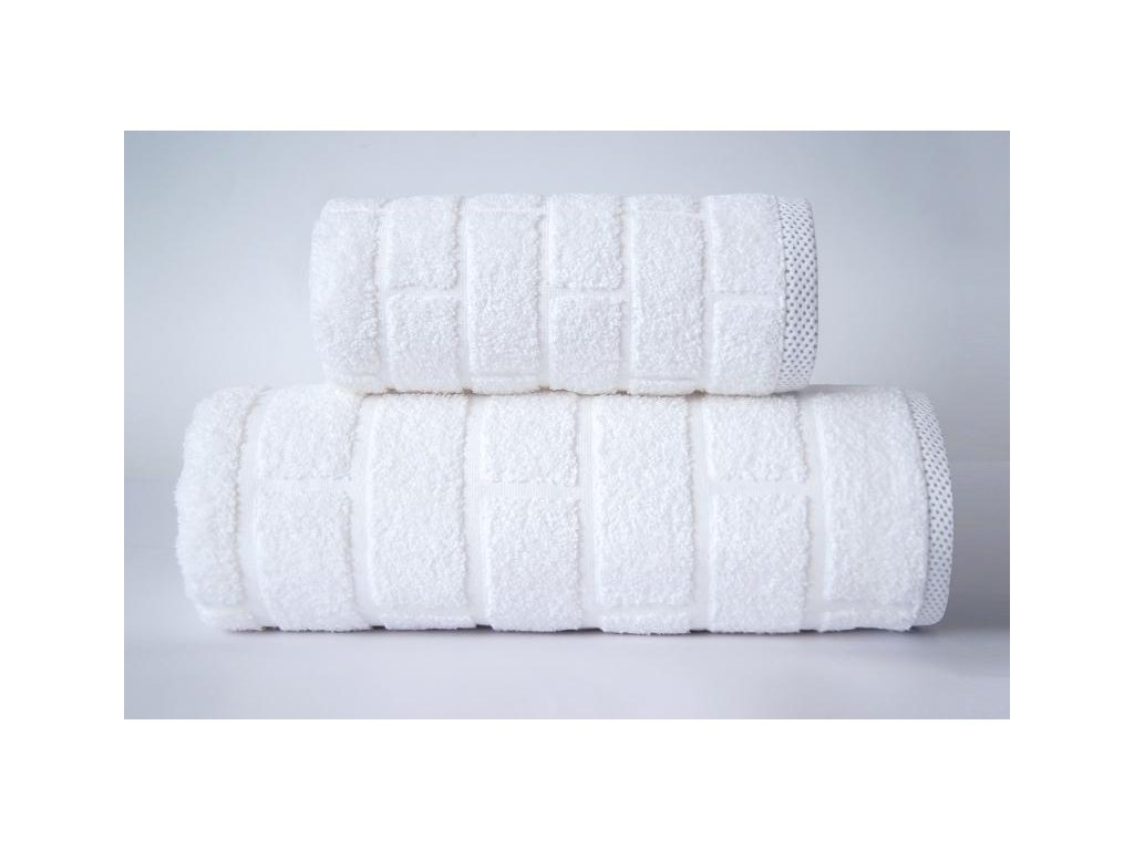 Biely uterák Brick - 50x90cm