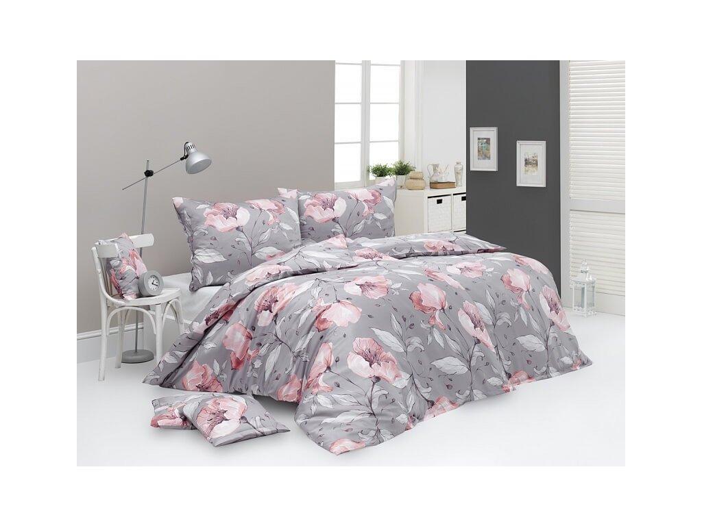 Bavlnené obliečky s kvetinovým vzorom Amabel DeLuxe