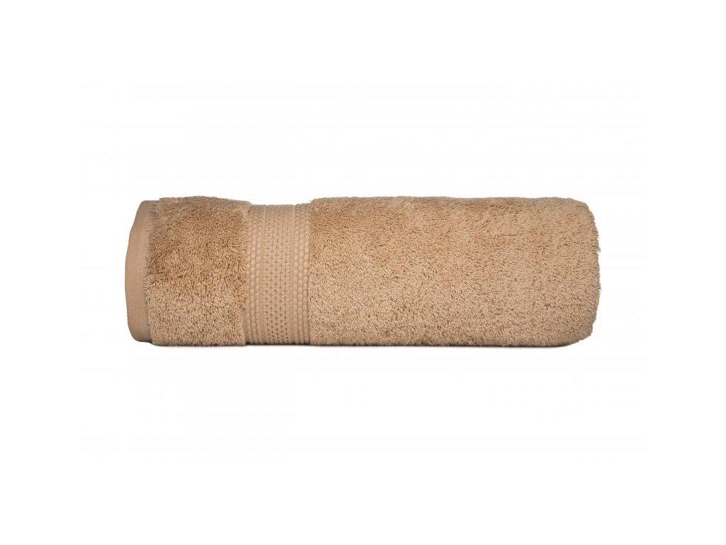 Mäkkučký béžový uteráčik Egyptian Cotton - 30x50cm