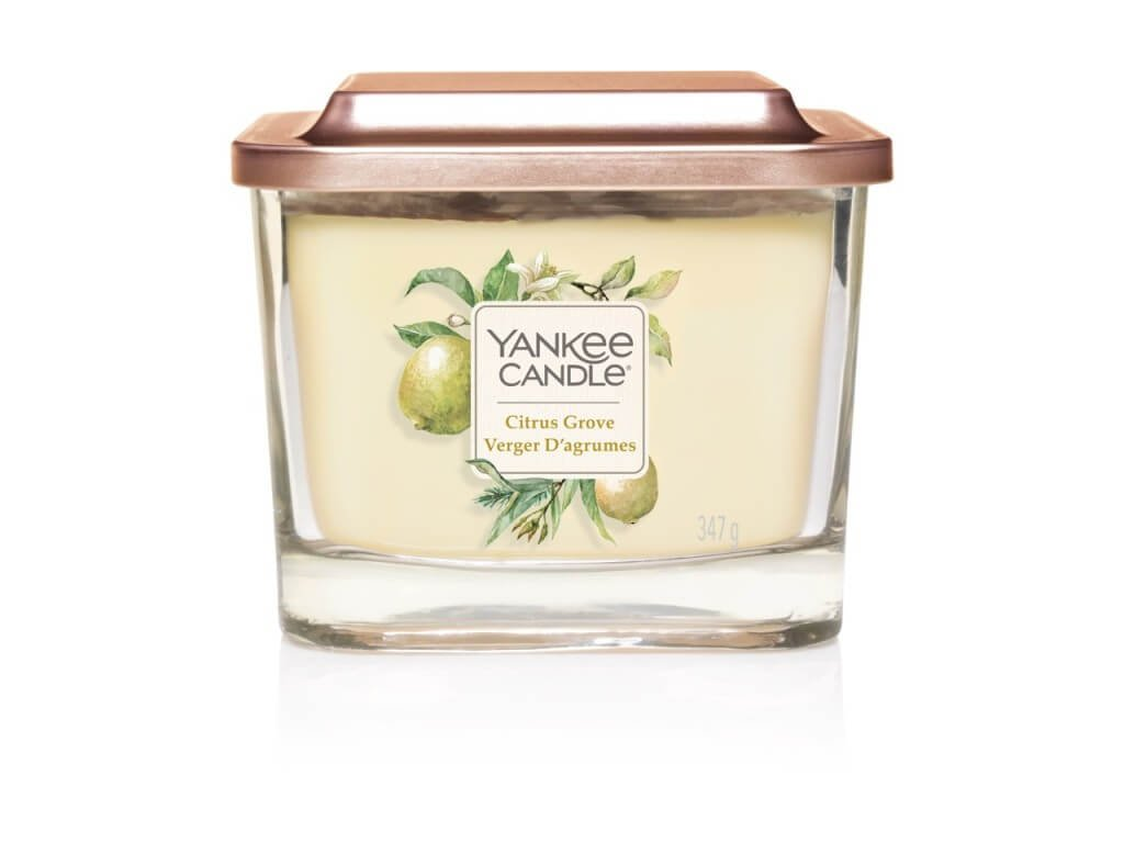 Vonná sviečka Yankee Candle Elevation - Citrus Glove