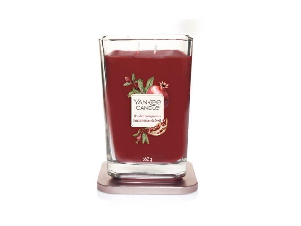 Vonná sviečka Yankee Candle Elevation - Holiday Pomegranate