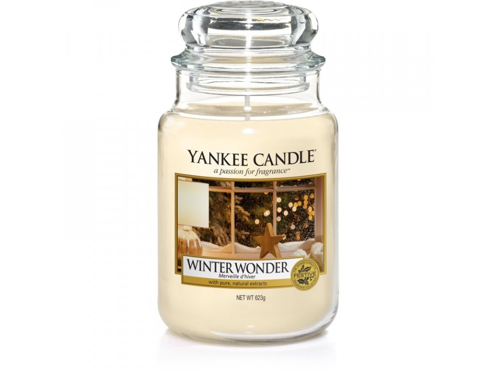 Vonná sviečka Yankee Candle - Winter Wonder