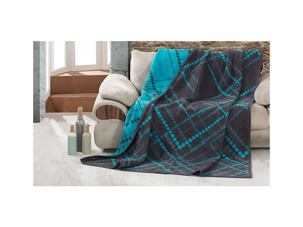 Hrejivá bavlnená deka Dexter - 160x220cm - Matějovský
