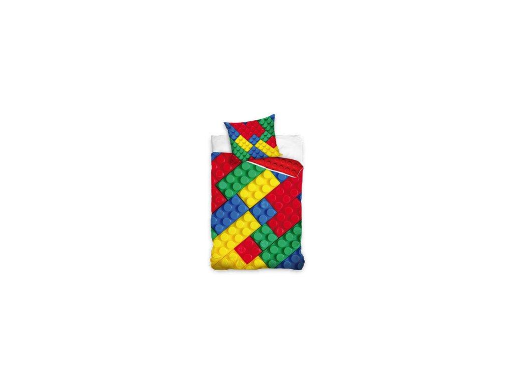 Detské obliečky Lego kocky