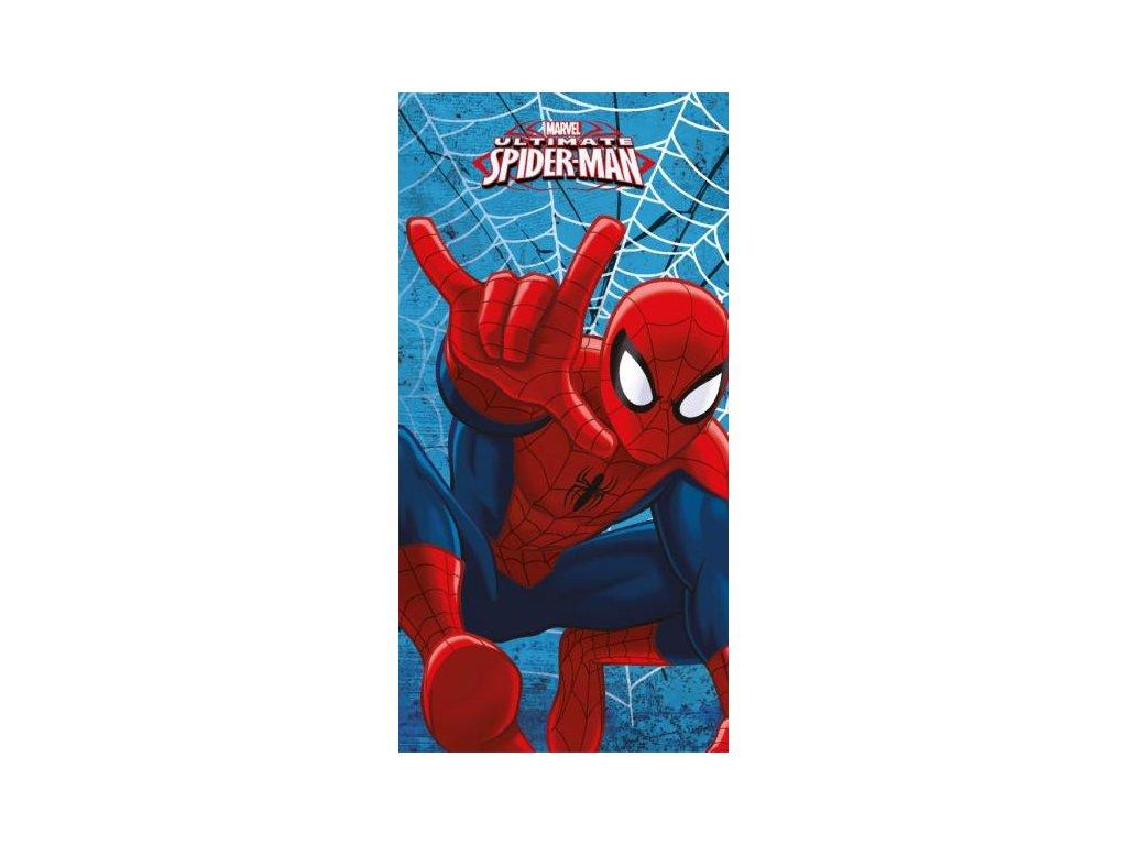 Detská plážová froté osuška Spiderman - 70x140cm