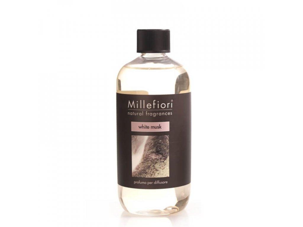 Náhradná náplň do difuzéru Millefiori - White Musk