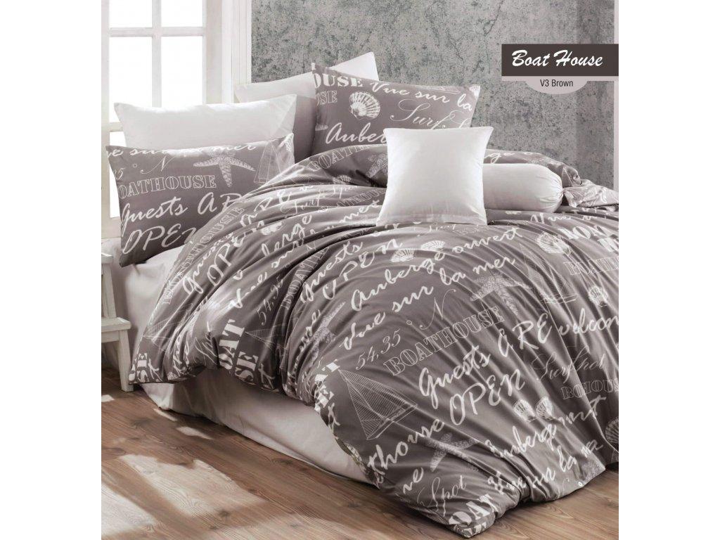posteľné obliecky boat house kahve Gabonga SK