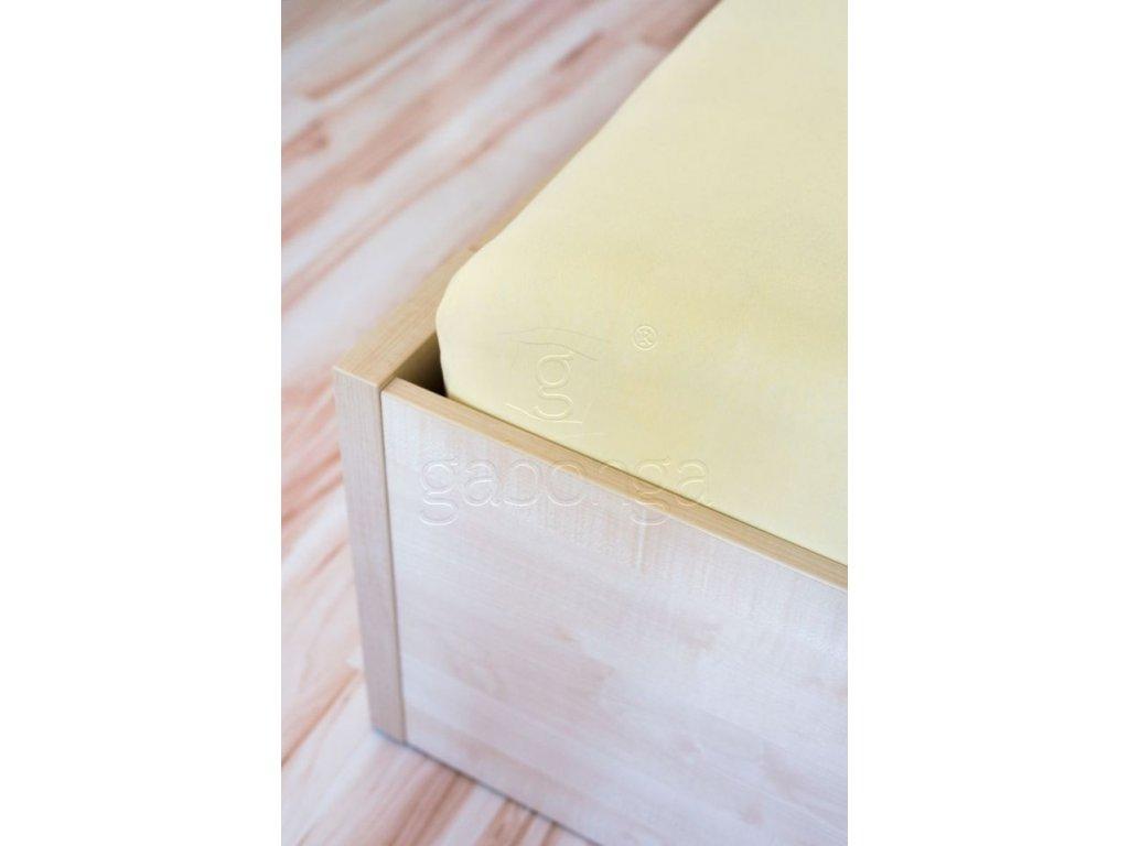 Vanilková detská plachta do postieľky - 60x120cm