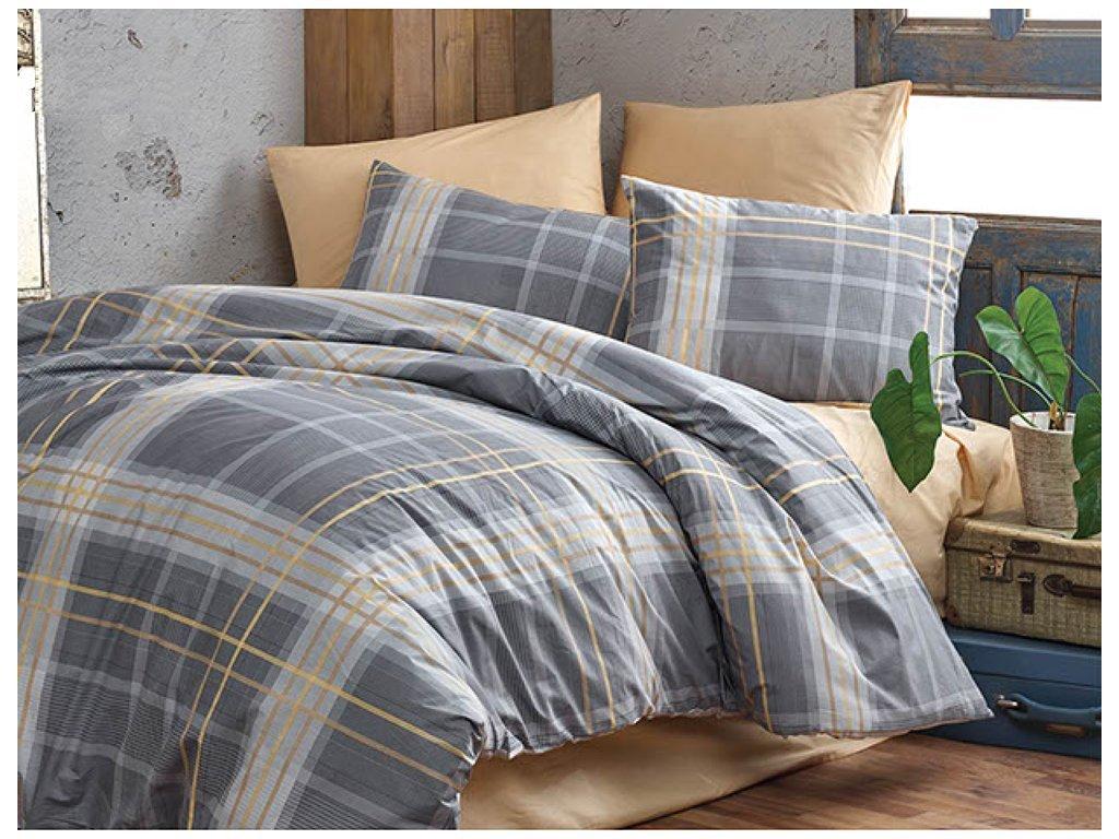 sede obliečky na posteľ Cross - Gabonga.sk