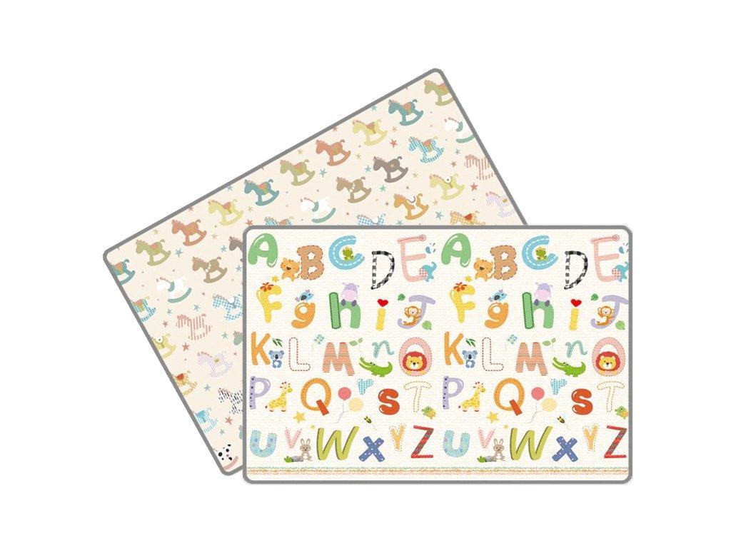 podlozka LALALU poniky a abeceda