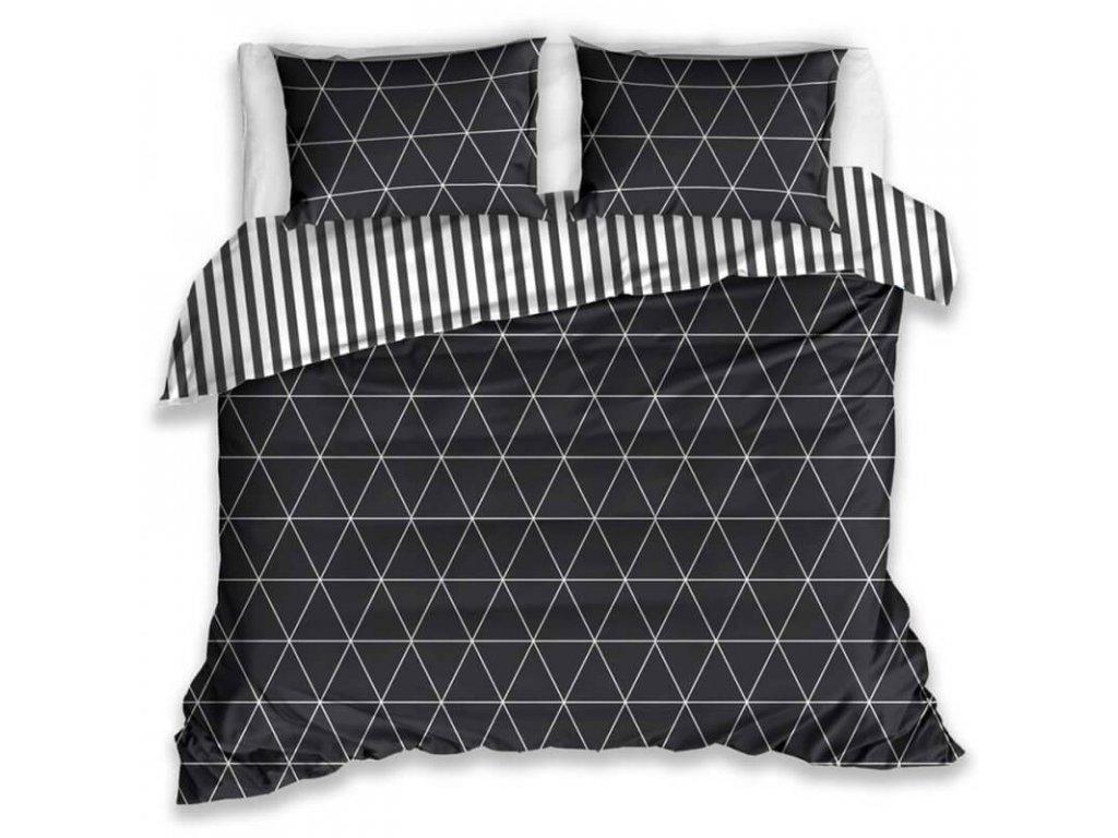 Čierne obliečky so vzorom - Gabonga