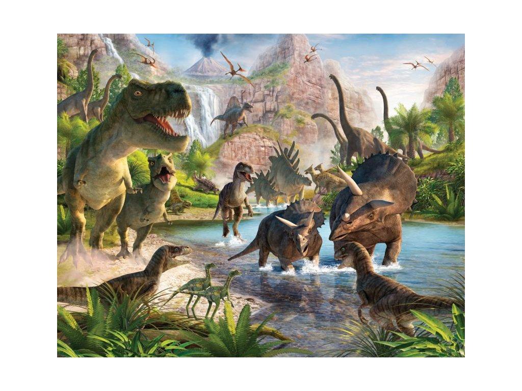 3D tapeta na stenu Dinosaury - 244x305cm