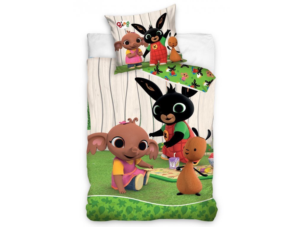 obliecky zajacik bing zahradná party