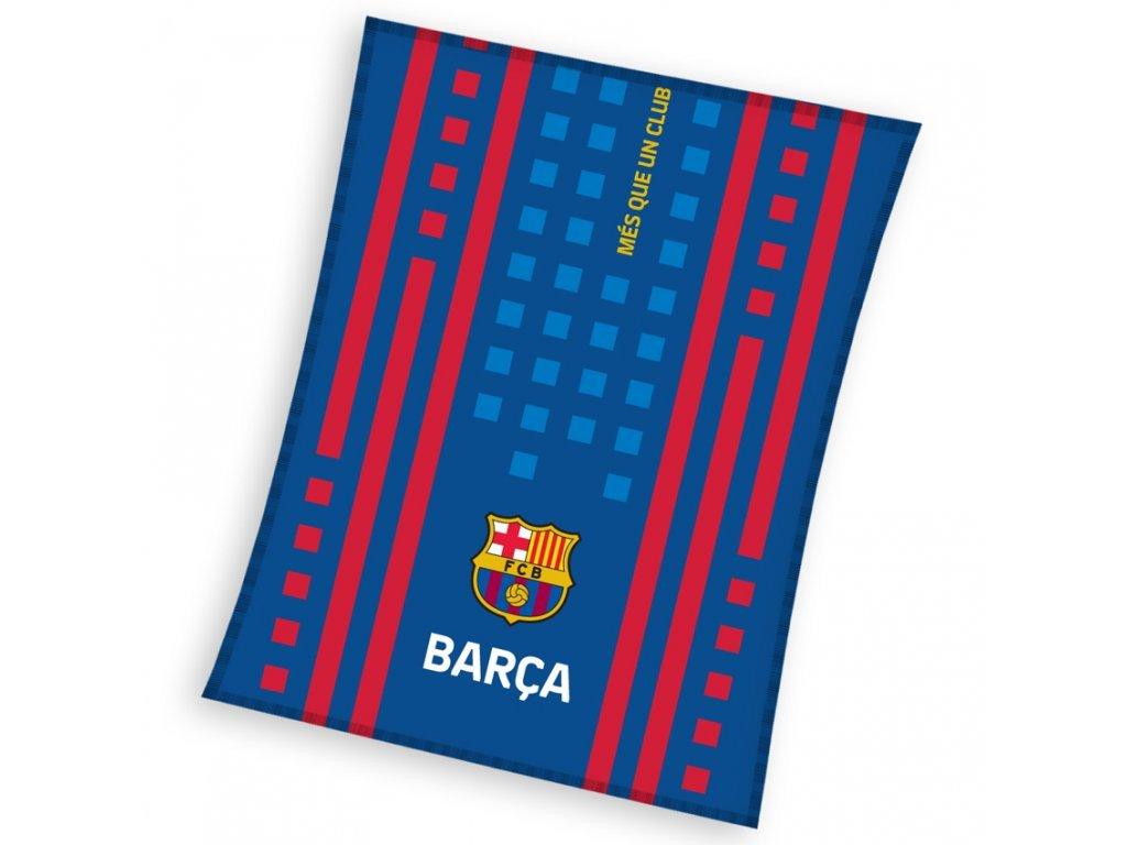 futbalova deka fc barcelona  110x140