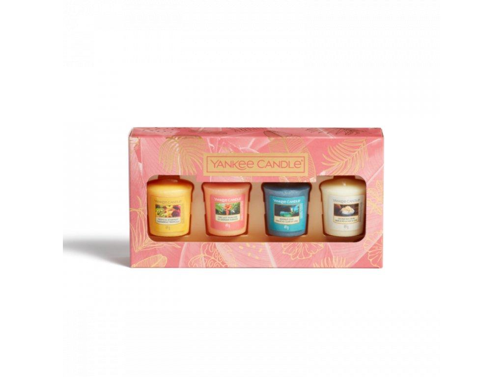 darcekova sada 4x sampler yankee candle