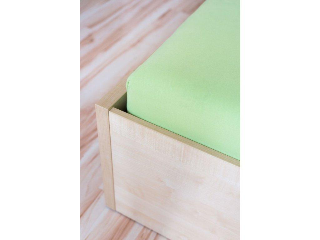 napinacia postelna plachta jersey zelena 074 gabonga