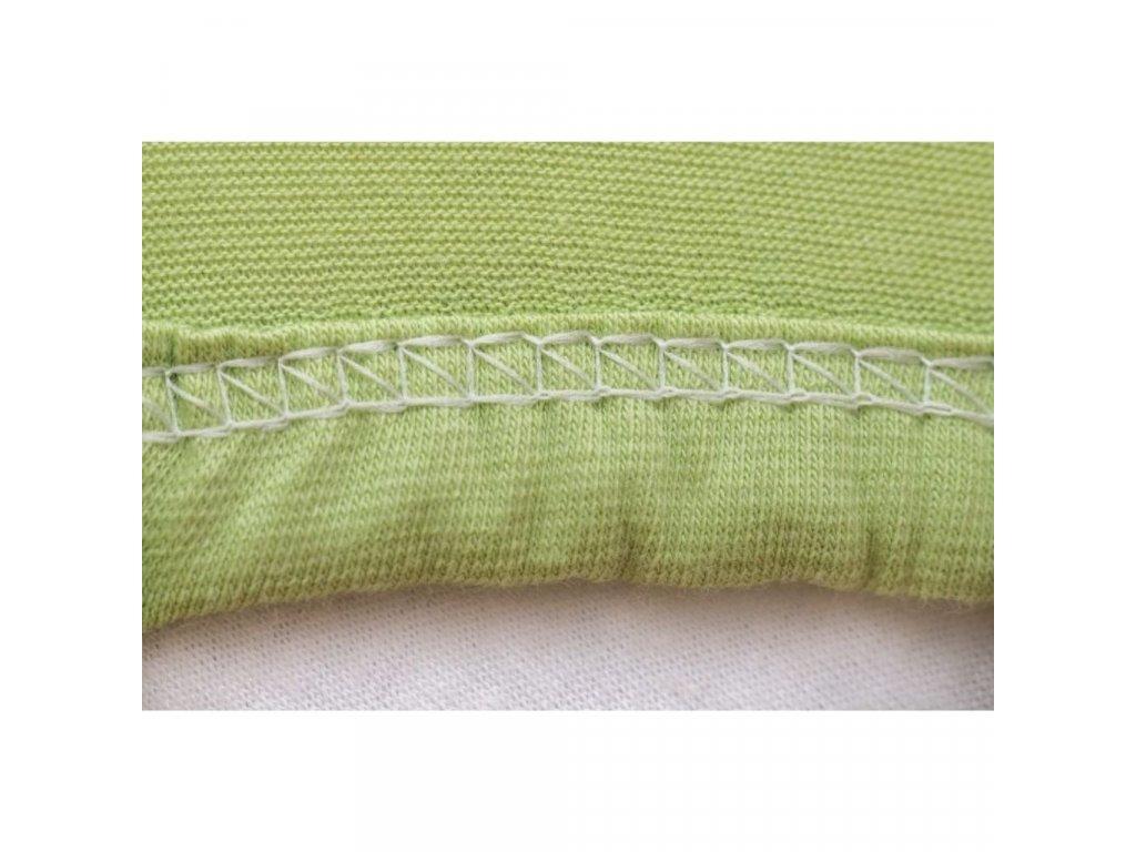 Limetková plachta na posteľ Jersey - rôzne veľkosti