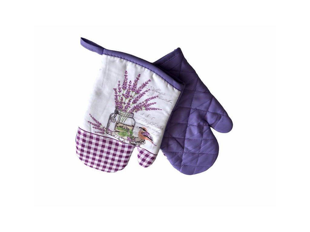 Sada rukavíc do kuchyne lavander_Gabonga.sk