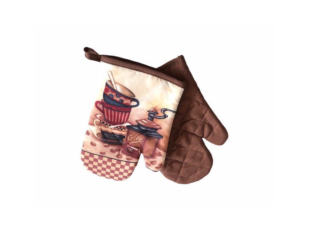 Moderné pekné rukavice s magnetom - Káva _ Gabonga.sk