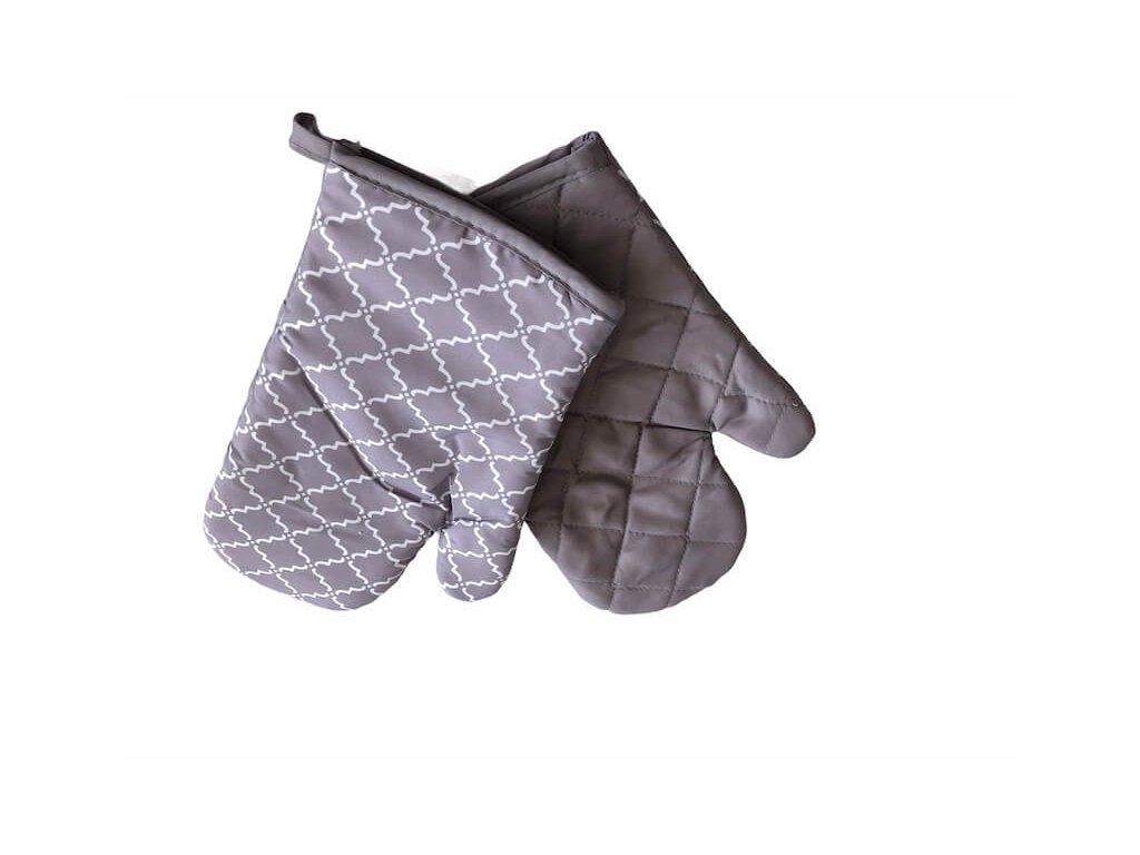 Šedé rukavice na varenie do kuchyne_Gabonga.sk