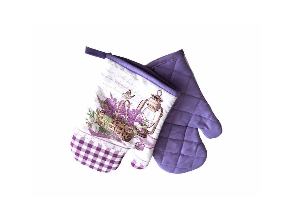 Ochranné rukavice na varenie do kuchyne Fialove_Gabonga.sk