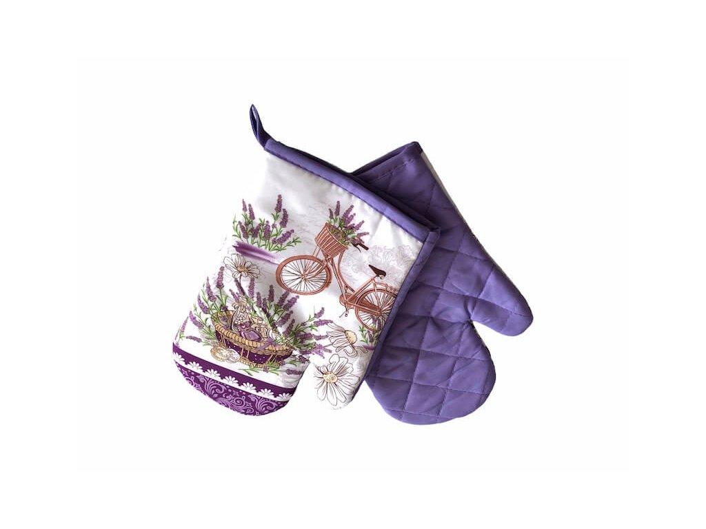 Kuchynské rukavice na varenie vo fialovej farbe s magnetom_Gabonga.sk