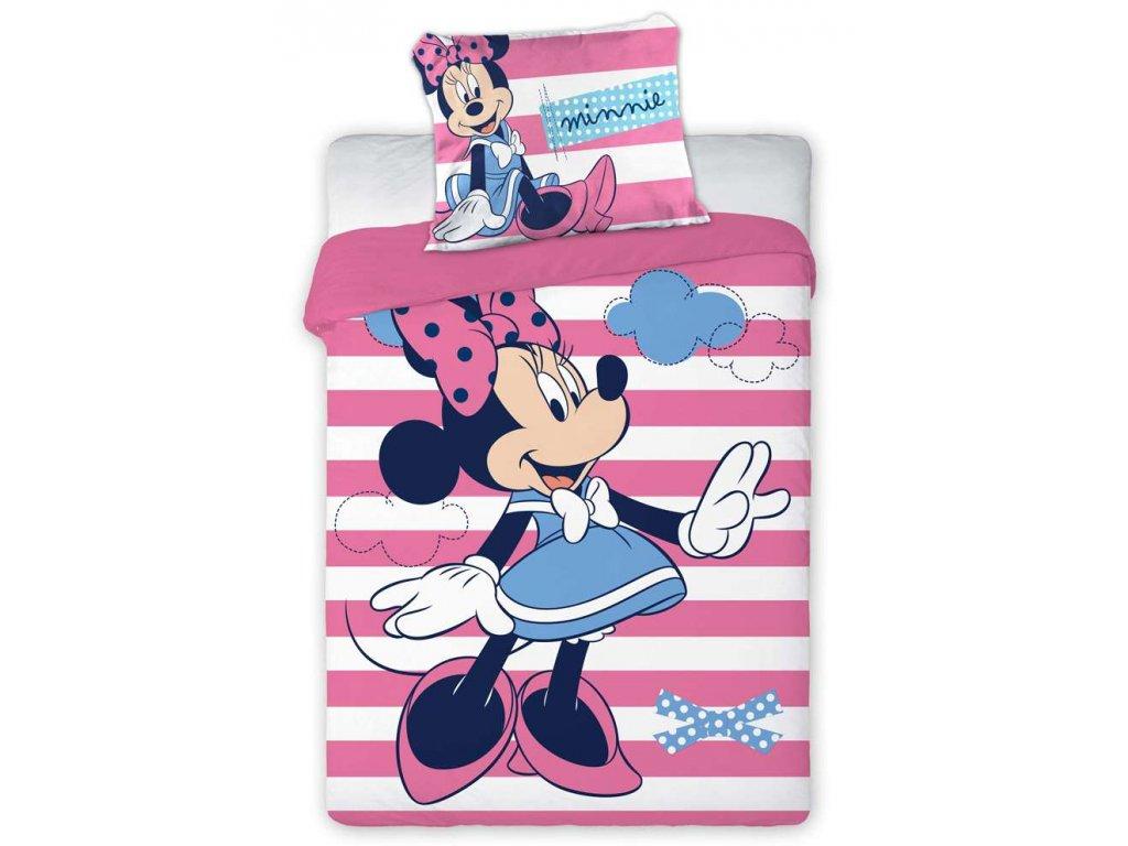 Disney obliečky do postieľky Minnie