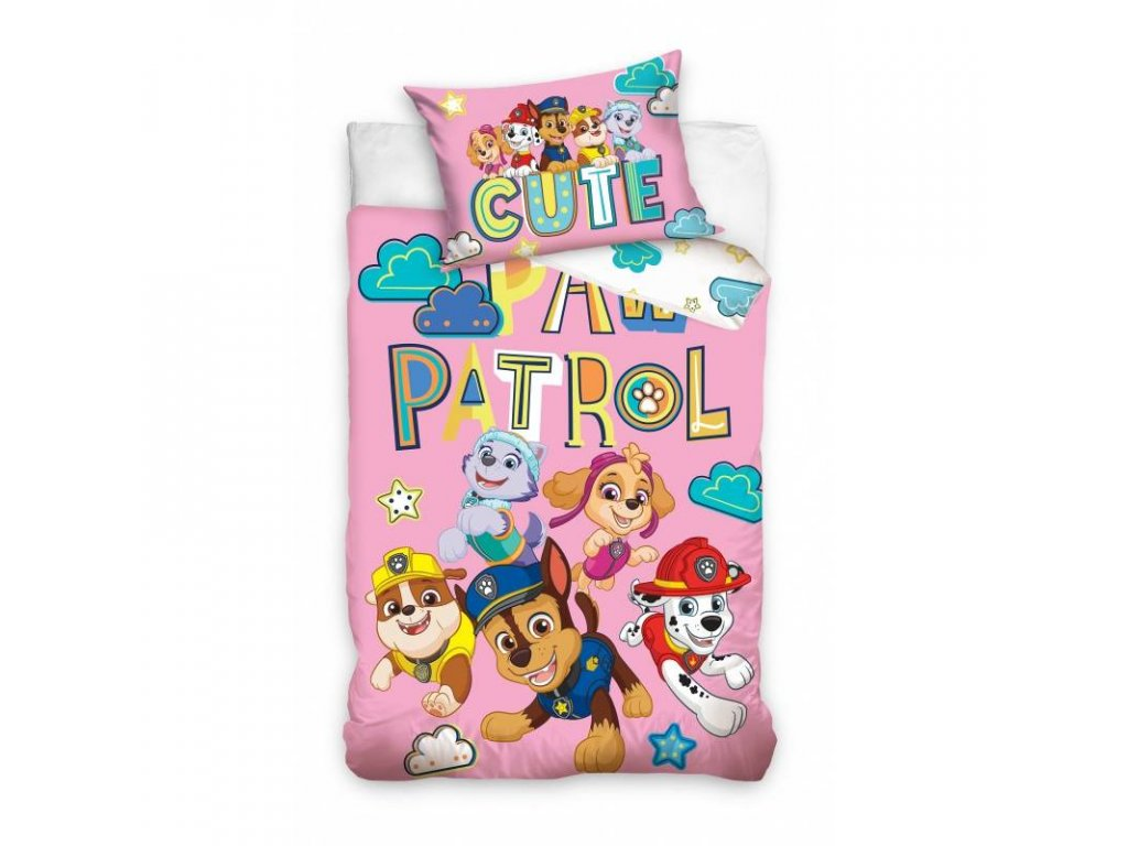 obliecky do postielky paw patrol cute