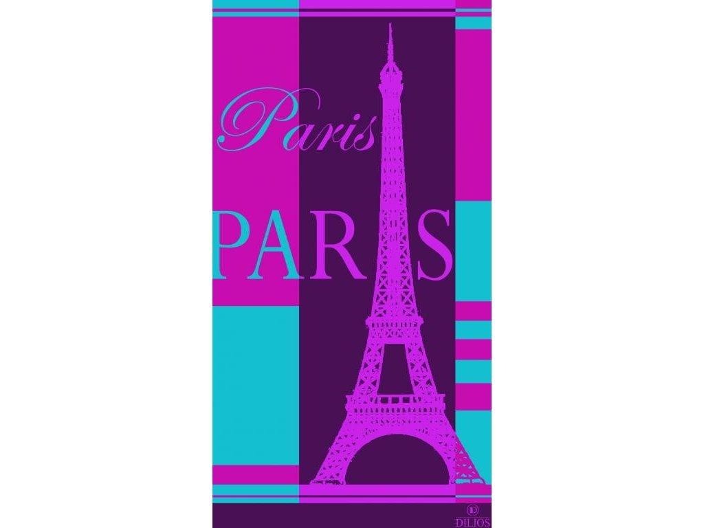 Plážová osuška Paris