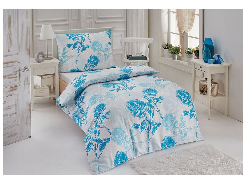 Bambusové obliečky s kvetinovým vzorom Sirena