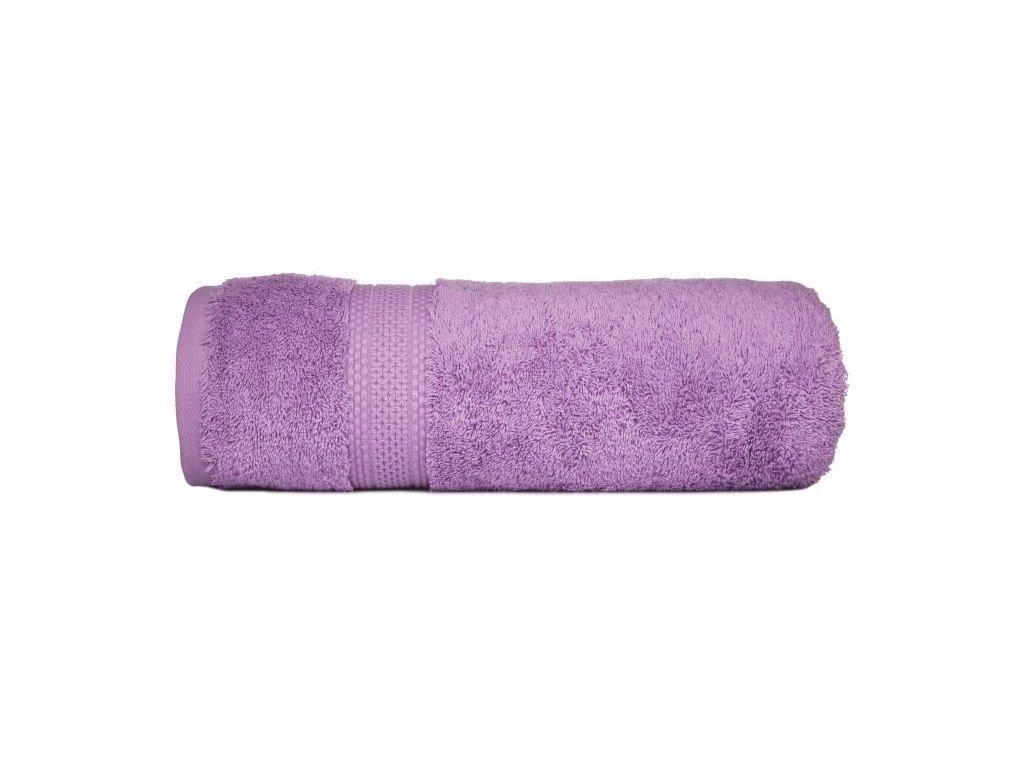Luxusný lila uterák Egyptian Cotton - 50x90cm