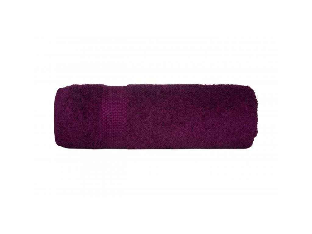 Luxusný slivkový uterák Egyptian Cotton - 50x90cm