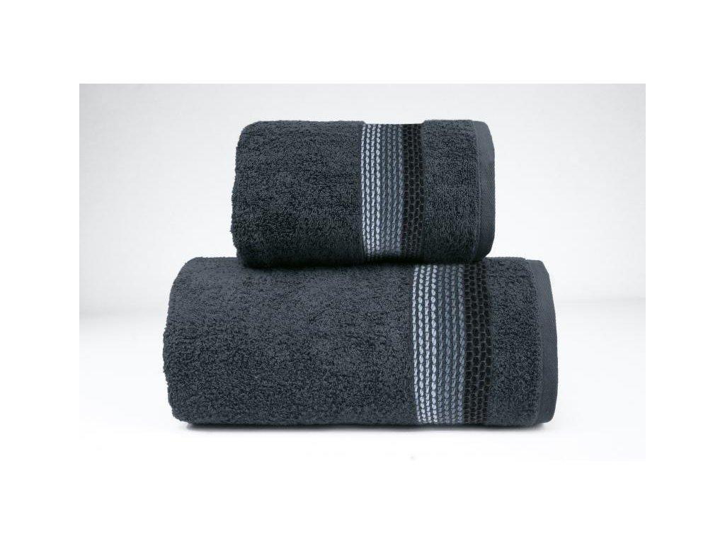 Popoľavý uterák Ombre - 50x90cm