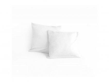 biela satenova obliecka greno 40x40cm