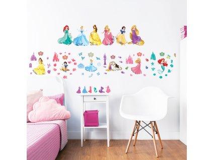 Sada dekoračných samolepiek na stenu - Princess