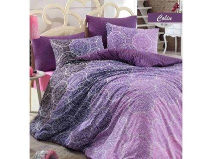 fialove bavlnene obliecky mandala vzor gabonga sk