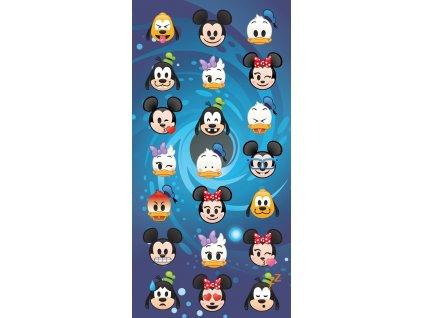 Detská osuška Disney emoji, 70x140cm